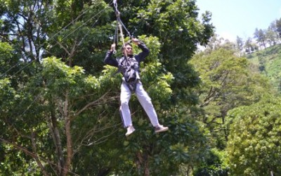 flying fox outbound di malang