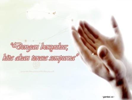 Syukuri Kebahagiaan, maka Kebahagiaan itu Akan Bertambah