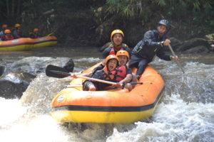 rafting di batu malang