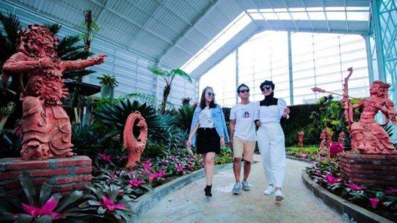 Wisata Terbaru Kota Batu Malang Batu Flower Garden